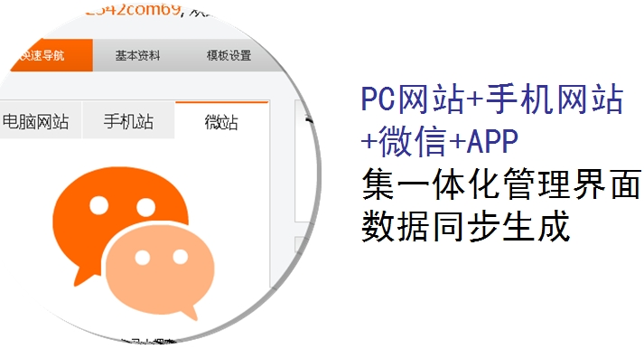 APP网站制作,四站合一