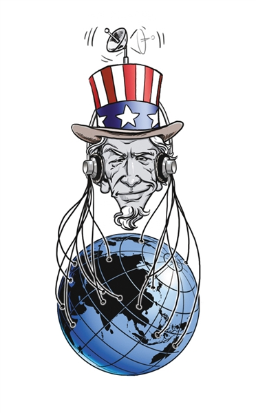 美国监视世界