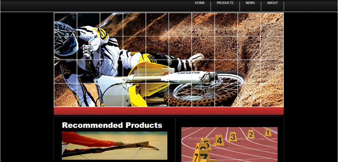 运动俱乐部网站模板