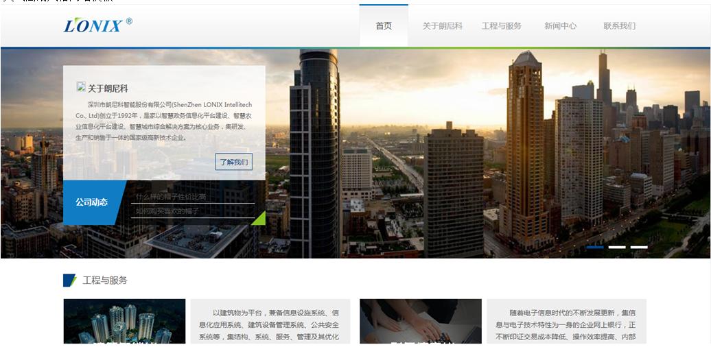 高端企业网站