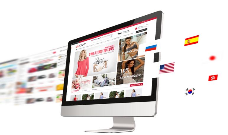 网站首页设计操作