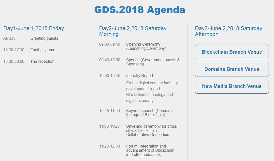 Chinese GDS.2018 Global Digital Summit - NiceNIC.NET