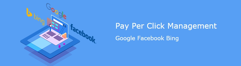 Pay Per Click Management Google Facebook Bing with NiceNIC.NET