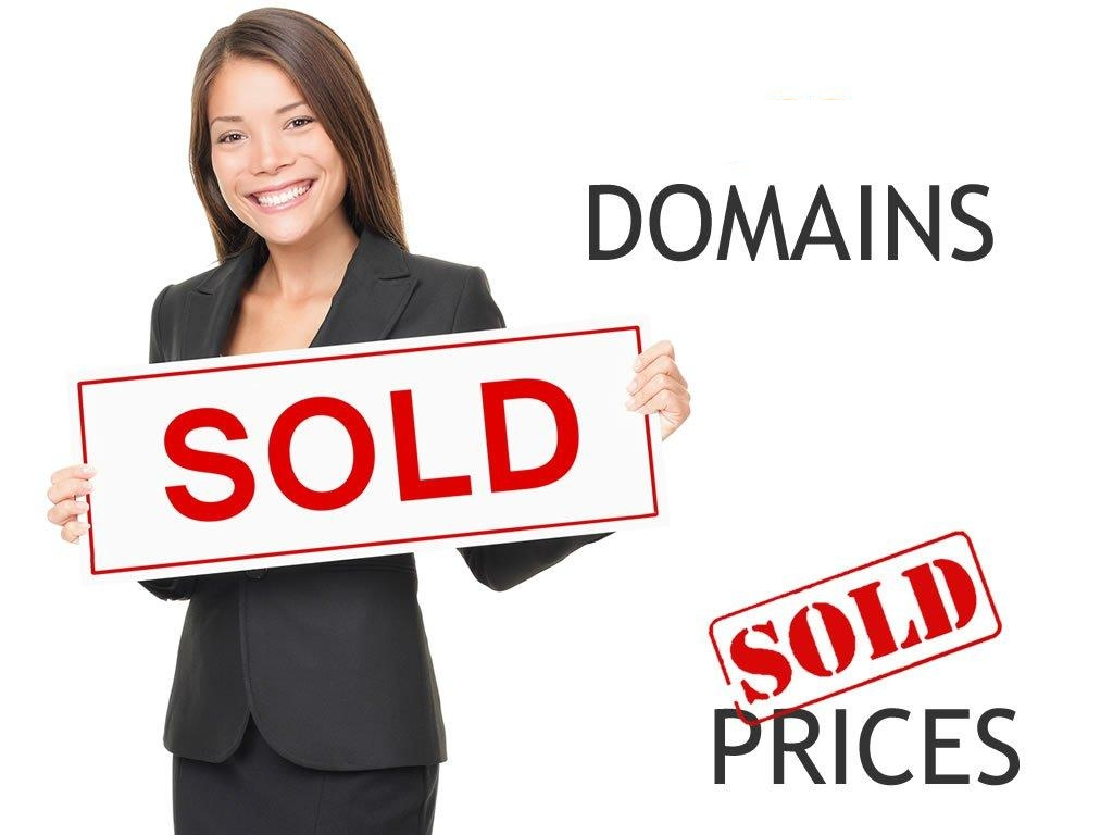 End user domain name sales